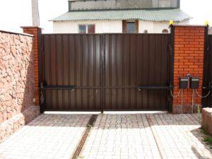 купить распашные ворота в Зеленограде. Установка и монтаж