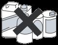 Не допускайте размещение блоков рядом с горючими смесями