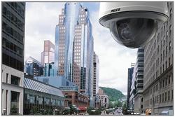 Видеокамеры наблюдения на городских улицах
