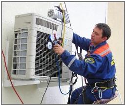 Монтаж сплит систем, заправка и техническое обслуживание кондиционеров