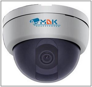Купольная камера видеонаблюдения МВК-2931Ц