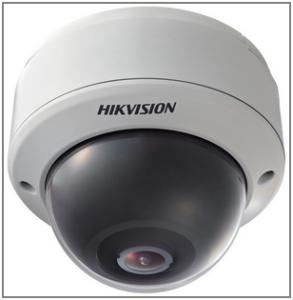Купольная ip камера видеонаблюдения DS-2CD783F-E