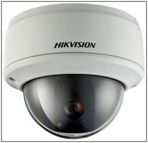 Купольная ip камера видеонаблюдения DS-2CD764FWD-E