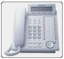 Системный IP системный телефон Panasonic KX-NT343