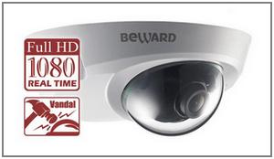 Купольная ip камера видеонаблюдения Beward BD4330DM