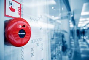 Установка охранно-пожарной системы